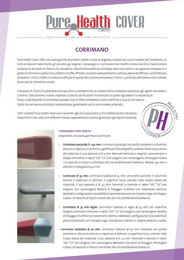 Pure Health Cover - Corrimano